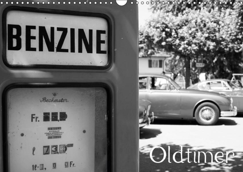 OldtimerCH-Version  (Wandkalender 2017 DIN A3 quer) - Coverbild