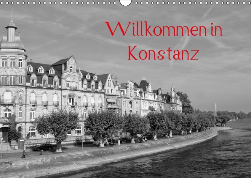Willkommen in Konstanz (Wandkalender 2017 DIN A3 quer) - Coverbild