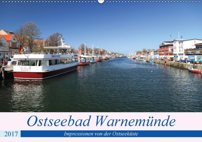 Ostseebad Warnemünde (Wandkalender 2017 DIN A2 quer) - Coverbild