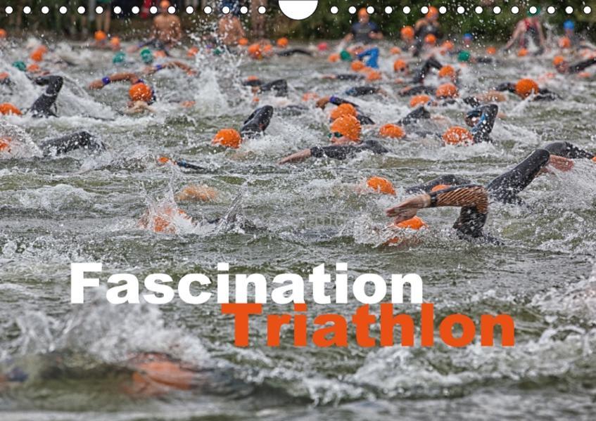 Fascination Triathlon (Wandkalender 2017 DIN A4 quer) - Coverbild