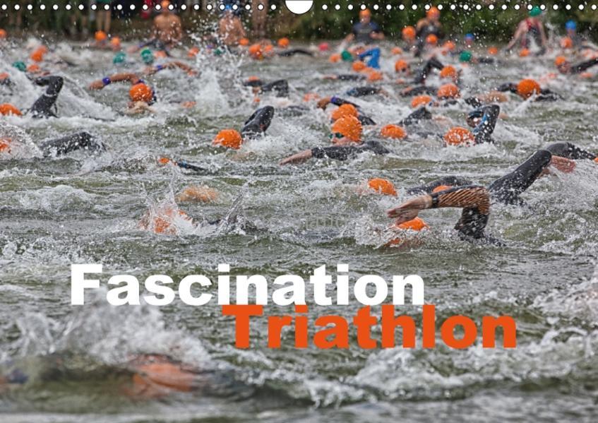 Fascination Triathlon (Wandkalender 2017 DIN A3 quer) - Coverbild