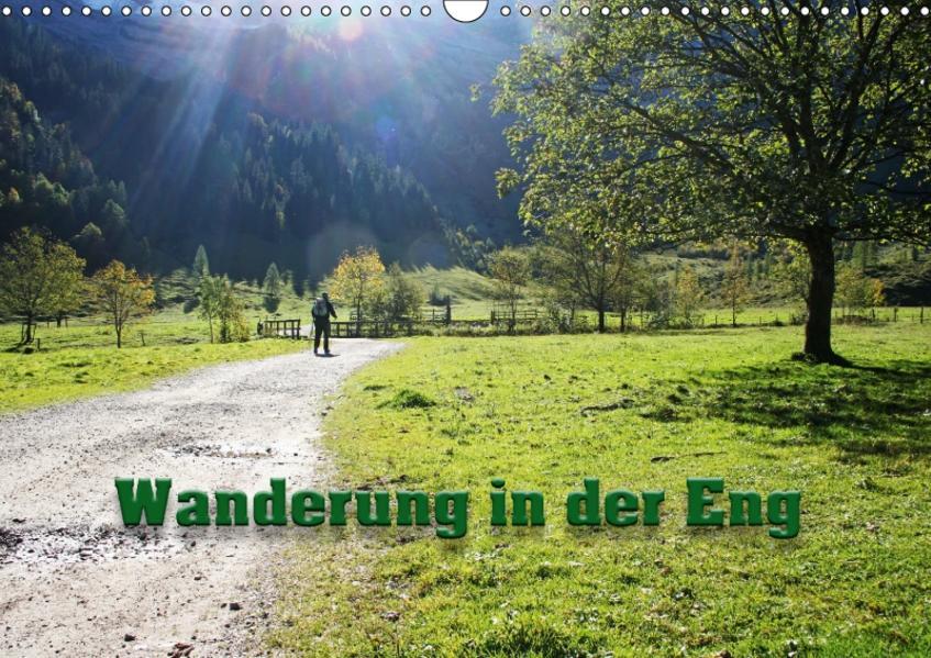 Wanderung in der Eng (Wandkalender 2017 DIN A3 quer) - Coverbild