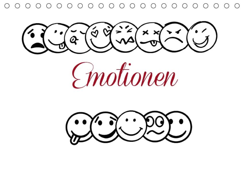 Emotionen (Tischkalender 2017 DIN A5 quer) - Coverbild