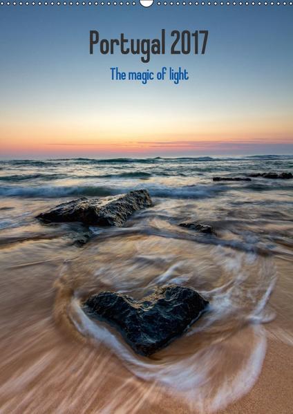 Portugal - Die Magie des Lichts (Wandkalender 2017 DIN A2 hoch) - Coverbild