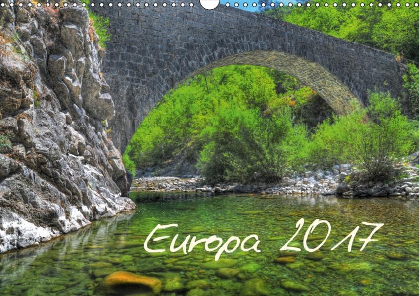 Europa 2017 (Wandkalender 2017 DIN A3 quer) - Coverbild