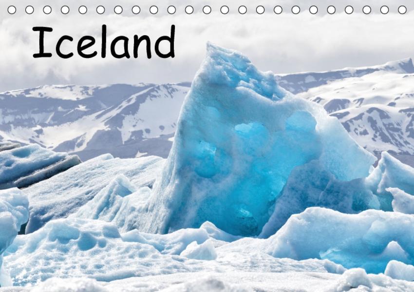 Iceland (Tischkalender 2017 DIN A5 quer) - Coverbild