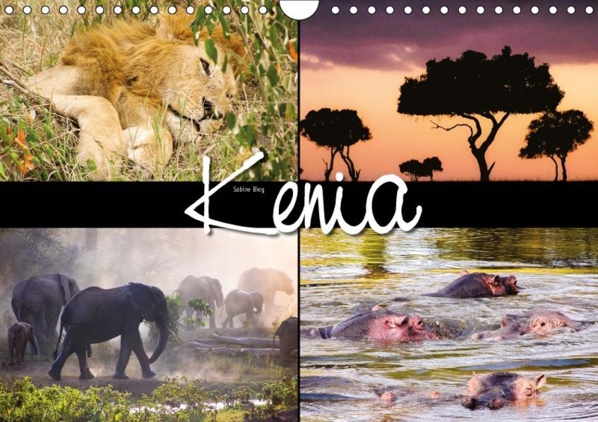 Kenia (Wandkalender 2017 DIN A4 quer) - Coverbild