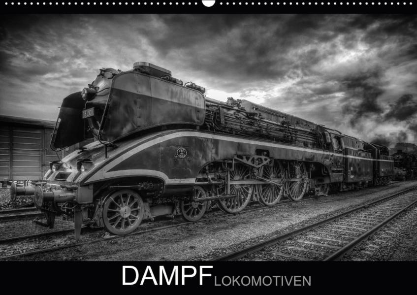Dampflokomotiven (Wandkalender 2017 DIN A2 quer) - Coverbild
