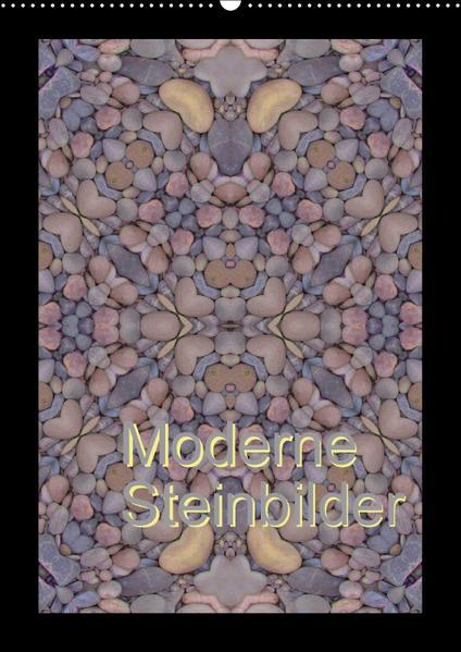 Moderne Steinbilder (Wandkalender 2017 DIN A2 hoch) - Coverbild