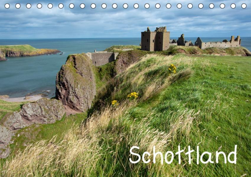 Schottland (Tischkalender 2017 DIN A5 quer) - Coverbild