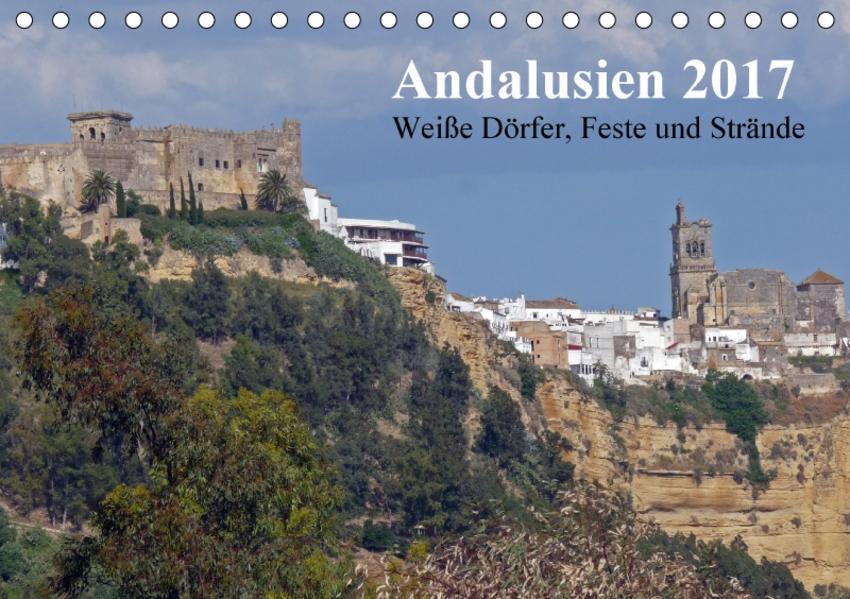 Andalusien 2017 (Tischkalender 2017 DIN A5 quer) - Coverbild