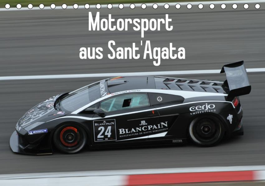 Motorsport aus Sant'Agata (Tischkalender 2017 DIN A5 quer) - Coverbild