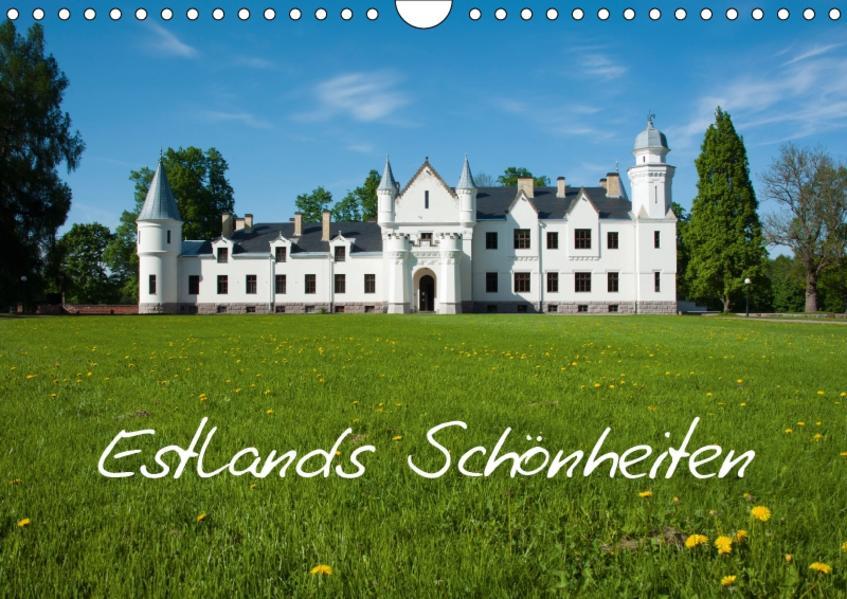 Estlands Schönheiten (Wandkalender 2017 DIN A4 quer) - Coverbild