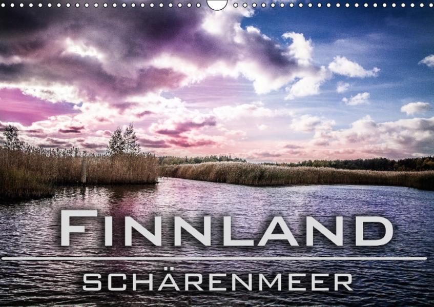 Finnland Schärenmeer (Wandkalender 2017 DIN A3 quer) - Coverbild