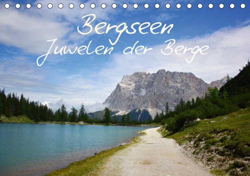 Bergseen - Juwelen der Berge (Tischkalender 2017 DIN A5 quer) - Coverbild