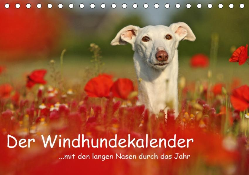 Der Windhundekalender (Tischkalender 2017 DIN A5 quer) - Coverbild