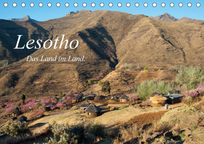 Lesotho (Tischkalender 2017 DIN A5 quer) - Coverbild