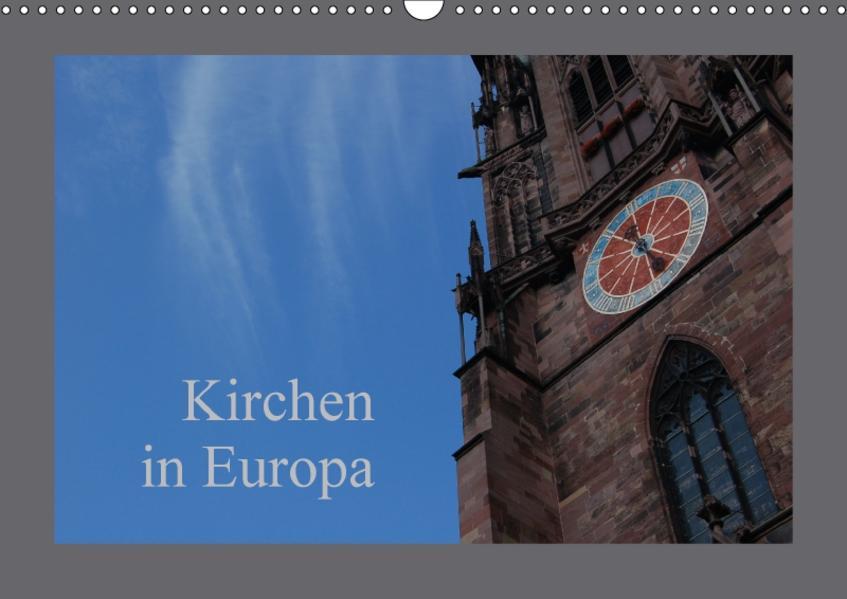Kirchen in Europa (Wandkalender 2017 DIN A3 quer) - Coverbild