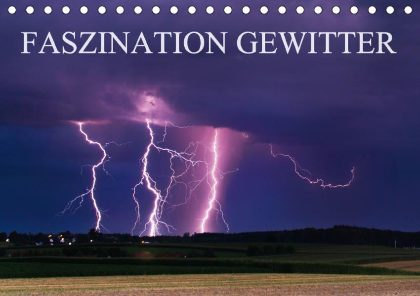 Faszination Gewitter (Tischkalender 2017 DIN A5 quer) - Coverbild