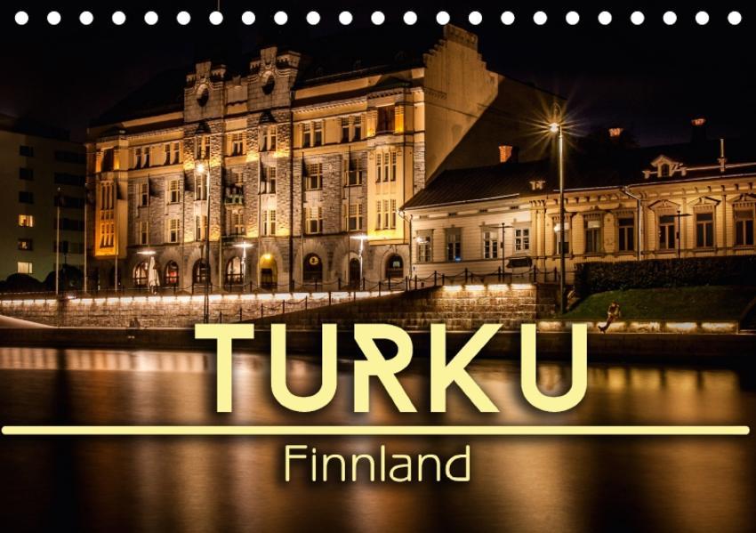 Turku / Finnland (Tischkalender 2017 DIN A5 quer) - Coverbild