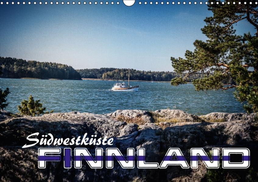 Südwestküste Finnland (Wandkalender 2017 DIN A3 quer) - Coverbild