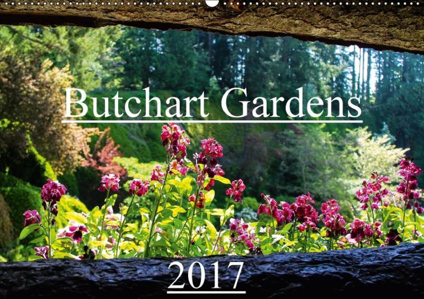 Butchart Gardens 2017 (Wandkalender 2017 DIN A2 quer) - Coverbild