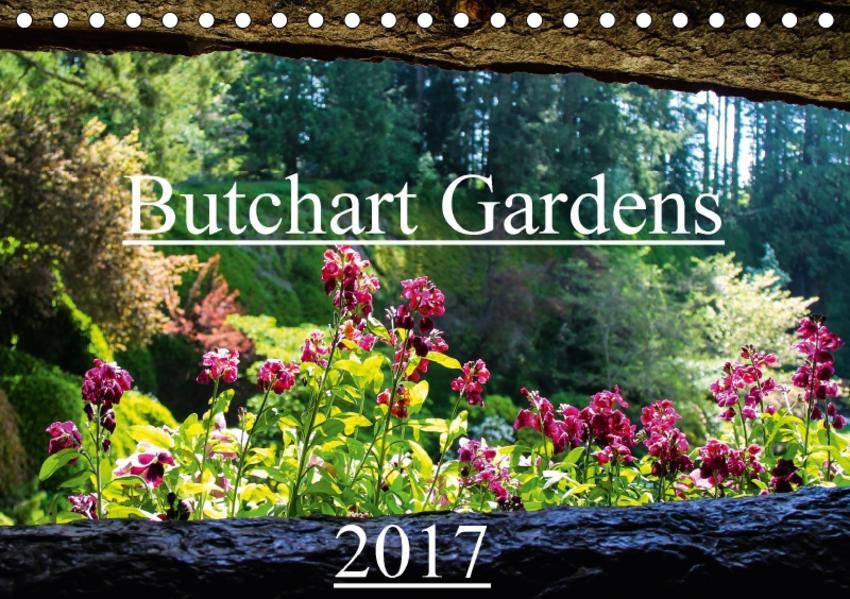 Butchart Gardens 2017 (Tischkalender 2017 DIN A5 quer) - Coverbild
