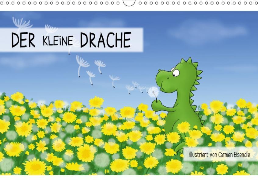 Der kleine Drache (Wandkalender 2017 DIN A3 quer) - Coverbild
