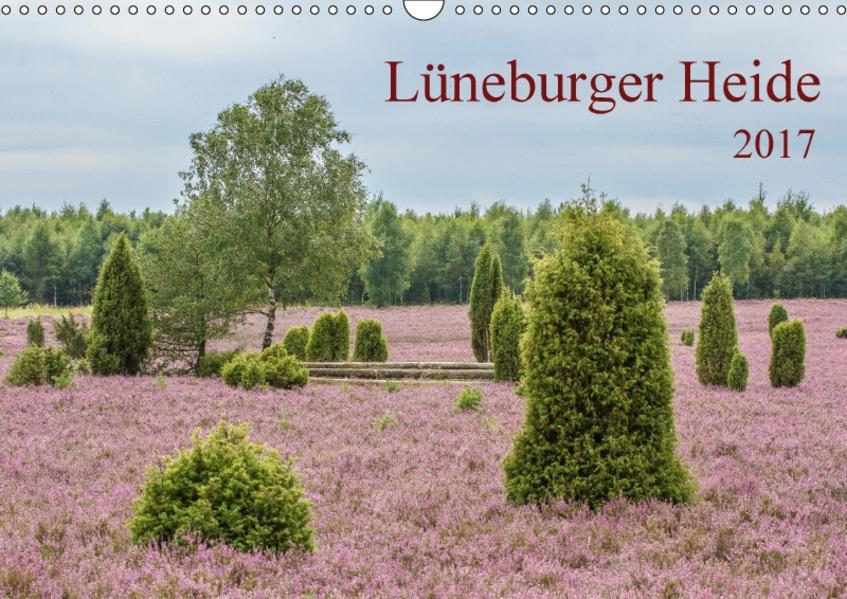 Lüneburger Heide (Wandkalender 2017 DIN A3 quer) - Coverbild
