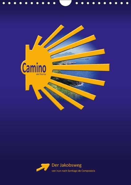 Camino del Norte (Wandkalender 2017 DIN A4 hoch) - Coverbild