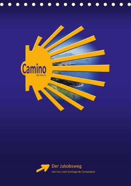 Camino del Norte (Tischkalender 2017 DIN A5 hoch) - Coverbild