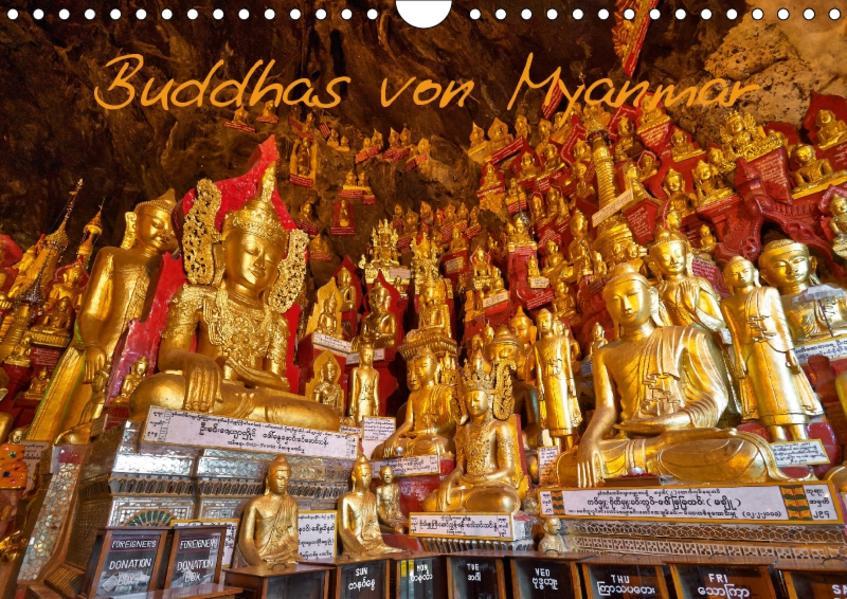Buddhas von Myanmar (Wandkalender 2017 DIN A4 quer) - Coverbild