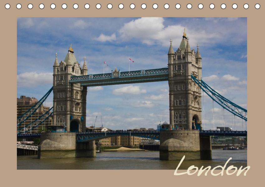 London (Tischkalender 2017 DIN A5 quer) - Coverbild