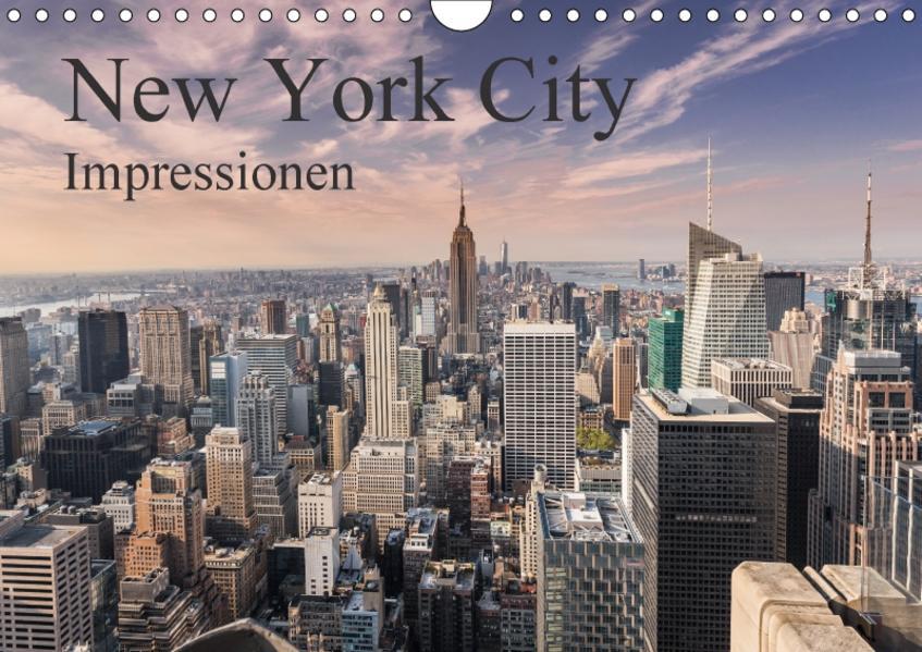 New York City Impressionen (Wandkalender 2017 DIN A4 quer) - Coverbild