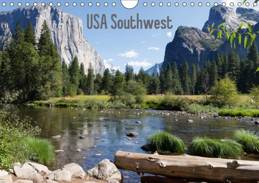 USA Southwest - CH-Version (Wandkalender 2017 DIN A4 quer) - Coverbild