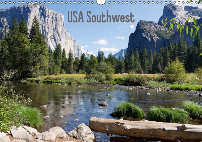 USA Southwest - CH-Version (Wandkalender 2017 DIN A3 quer) - Coverbild