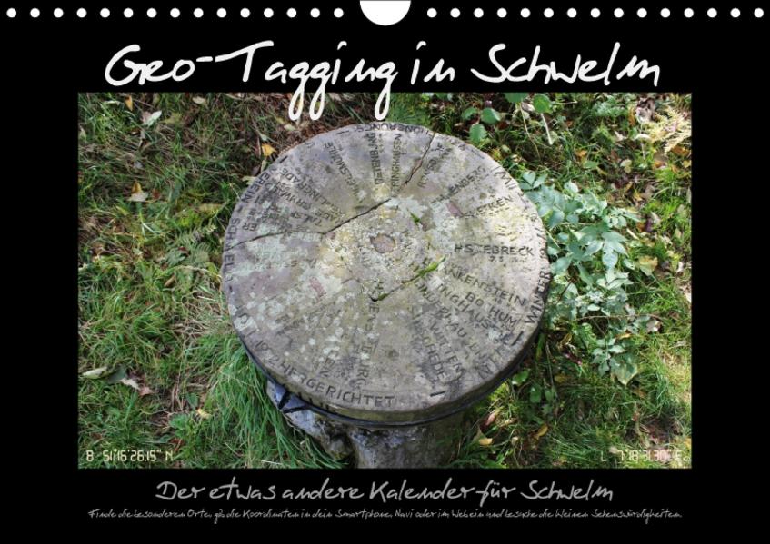 Geo-Tagging in Schwelm (Wandkalender 2017 DIN A4 quer) - Coverbild