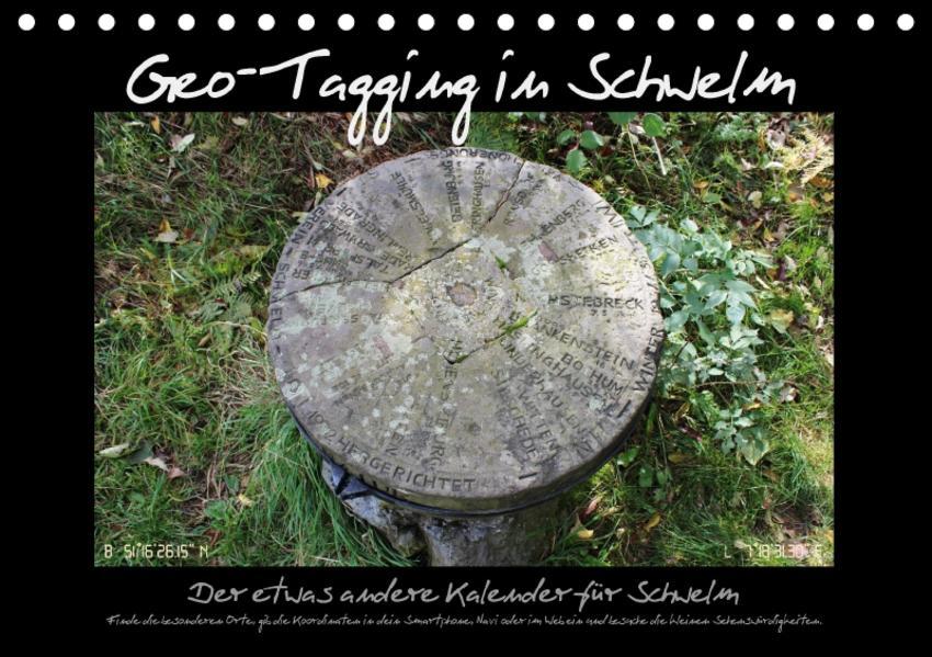 Geo-Tagging in Schwelm (Tischkalender 2017 DIN A5 quer) - Coverbild