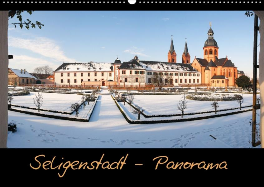 Seligenstadt-Panorama (Wandkalender 2017 DIN A2 quer) - Coverbild