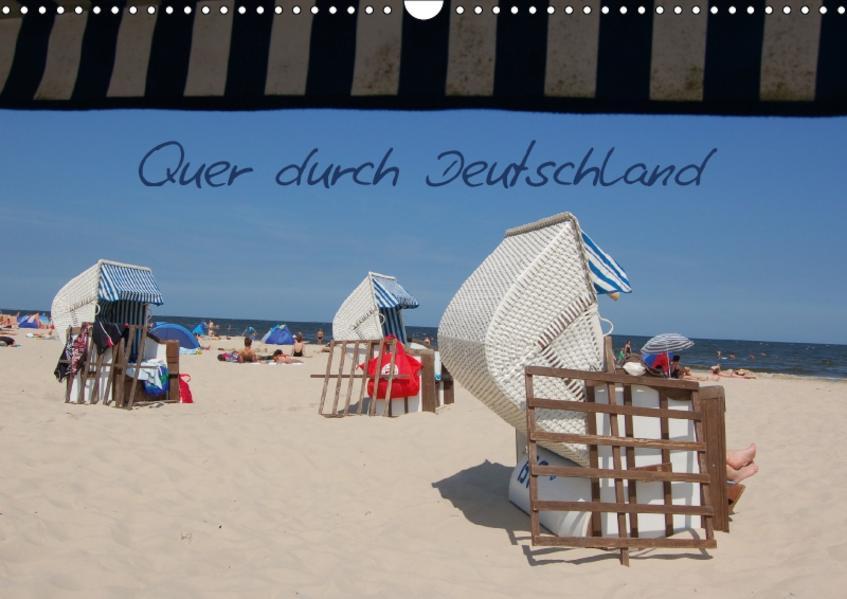 Quer durch Deutschland (Wandkalender 2017 DIN A3 quer) - Coverbild