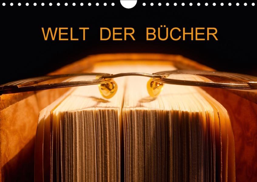 Welt der Bücher / CH-Version (Wandkalender 2017 DIN A4 quer) - Coverbild