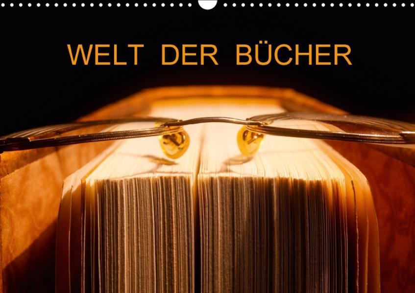 Welt der Bücher / CH-Version (Wandkalender 2017 DIN A3 quer) - Coverbild