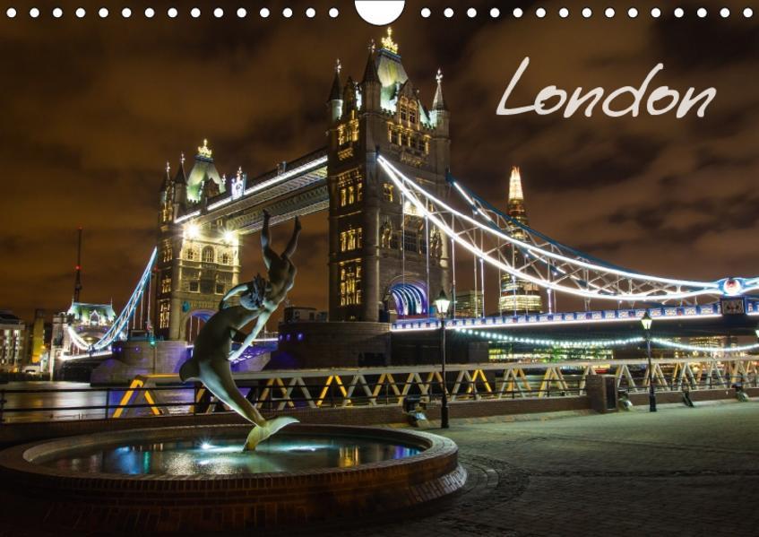 London (Wandkalender 2017 DIN A4 quer) - Coverbild