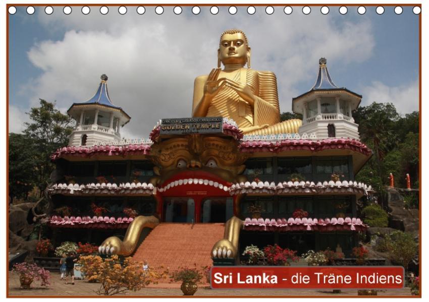 Sri Lanka - die Träne Indiens (Tischkalender 2017 DIN A5 quer) - Coverbild