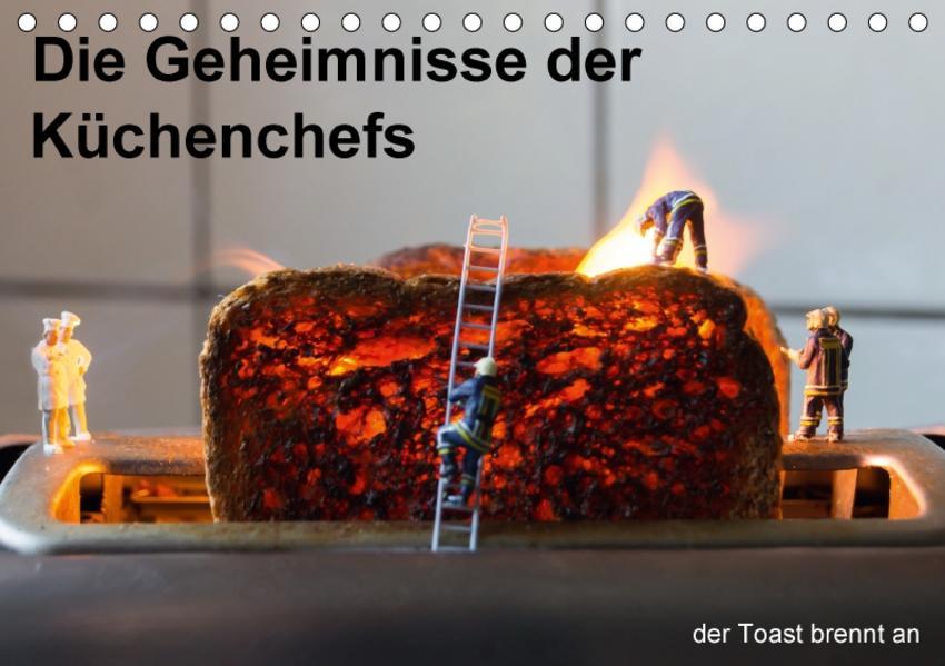 Die wahren Küchenchefs (Tischkalender 2017 DIN A5 quer) - Coverbild