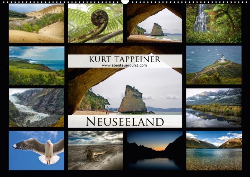 Neuseeland (Wandkalender 2017 DIN A2 quer) - Coverbild