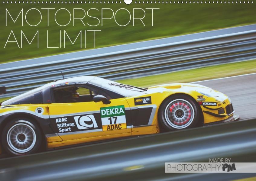 Motorsport am Limit 2017 (Wandkalender 2017 DIN A2 quer) - Coverbild