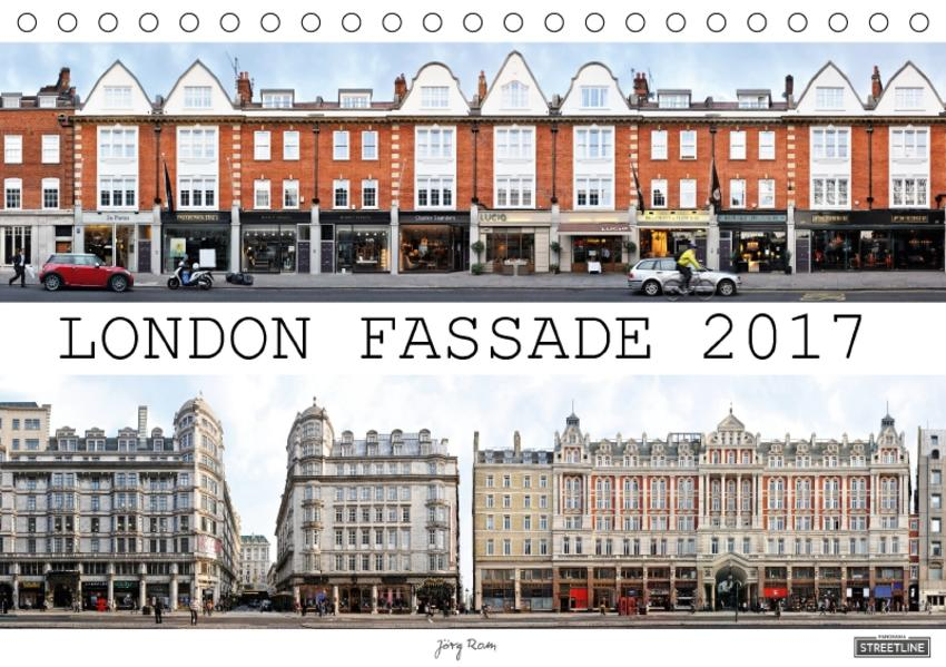London Fassade 2017 (Tischkalender 2017 DIN A5 quer) - Coverbild