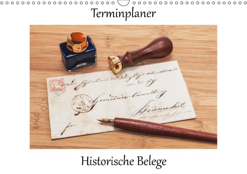 Historische Belege / CH-Version / Planer (Wandkalender 2017 DIN A3 quer) - Coverbild