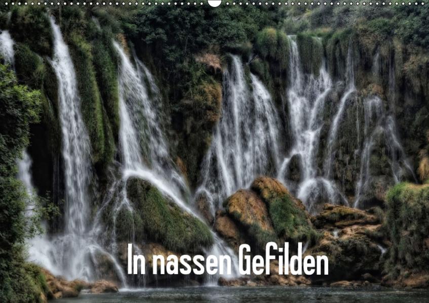 In nassen Gefilden (Wandkalender 2017 DIN A2 quer) - Coverbild